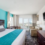 King Bed w/ Sofa Bed Side OceanView