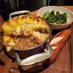 SHEPHERD'S PIE (sorry couldn't wait to dig in)
