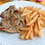 Pork Chop & hot fresh fries
