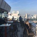 Rooftop breakfast area / resturant
