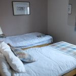 One of the 2 twin rooms