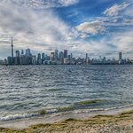 Toronto from the Toronto Bicycle Tour of the islands