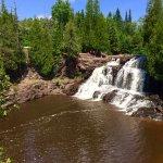Gooseberry Falls... A MUST SEE! Plan to hike! Bring water!