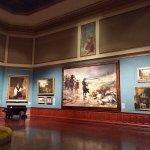 Fantastic artworks on western Main Gallery