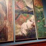 Triptic Artwork from a French postimpressionist or Nabi Master...Bonnard, Vuillard, Valloton ?