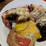 Therese's amazing cornbread and lobster!