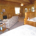 All of our cabins are roomy and comfortable.