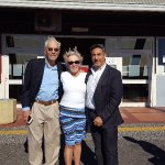 Rome in Limousine with Greg and Mary Ann