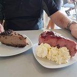 Cherry cheesecake heaven