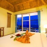 Deluxe room near swimming pool