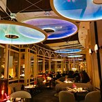 Exquisite Jean-Georges dining room