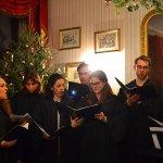 Live carol choir