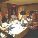 Fabulous Christmas get together 2017 at the BEAUTIFUL Warren Farm Lodge