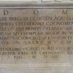 Inscription for Bregno's tomb