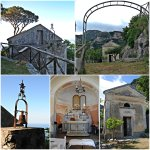 a little chapel on the grounds of the agriturismo