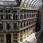 view from the dining area of the Resort Galleria Umberto