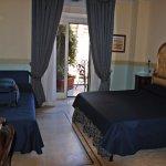 hotel room at Resort Galleria Umberto