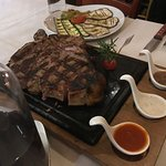 Florentine Steak (1.2 KG = 97Euros) - Supposed to be for 2, could feed 4.