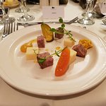Beautifully presented and tasty food