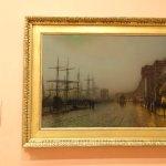 John Atkinson Grimshaw y su Canny Glasgow, Óleo sobre lienzo de 1887, impresionante!