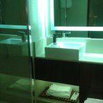 Small but functional bathroom -