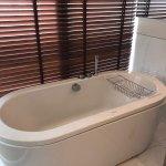 Bathtub in master room