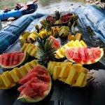 riquísimas frutas es parte del recorrido!!