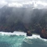 Sun through the Clouds Napali Coast