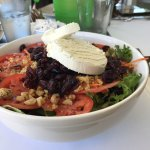 The amazing Goat cheese salad WOW!