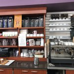 Strong double espresso area.