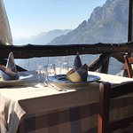 View from the Fattoria La Tagliata at Positano