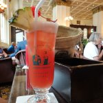 The famous Singapore Sling