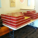 Thanksgiving Time, Pies ready for pickup! Awesome!