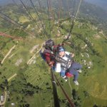 Nagarkot everest view paragliding