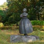 Statue inside the park