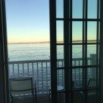 Oceanfront suite balcony