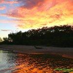 atardecer en el amazonas apreciando la belleza amazonica