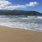 Photo de Hanalei Beach
