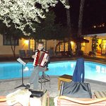 Music by the pool
