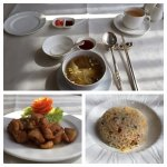 The Chinese restaurant at Royal Princess Larn Luang
