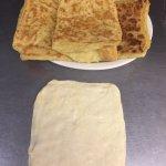 Msemen (Moroccan pancake)