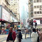 Walking in Wan Chai