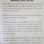 The history of the hotel dates back to 1887