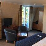 Large comfortable room, Jacuzzi bath an added bonus