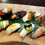 sushi Best 10 pcs  omakase fish air -shipped delivery from Japan fish market
