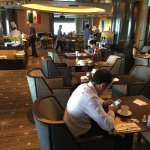 Part of the extensive SkyLounge on the 70th floor