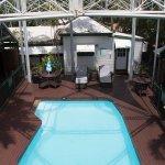 Pool area at McAlpine House