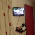 TV quite small