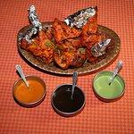 Tandoori chicken ( Appetizer )
