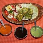 Hariyali Fish Tilapia ( Appetizer )